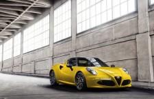 Nouvelle Alfa Romeo 4C Spider : présentation