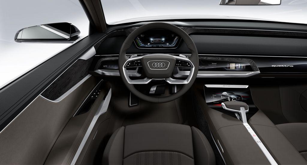 Lire l'article «Audi dévoile son concept Prologue Avant»