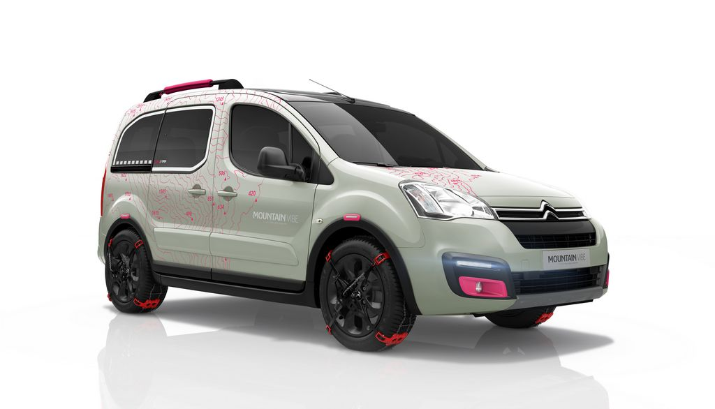 Lire l'article « Citroën Berlingo Mountain Vibe Concept »