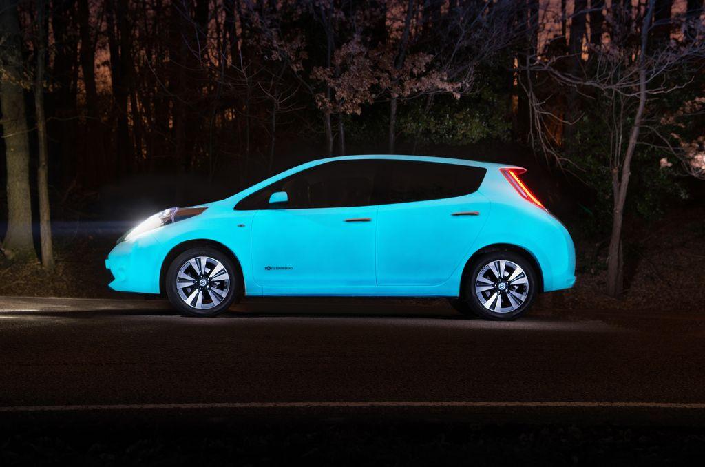 Lire l'article «La Nissan Leaf brille la nuit !»