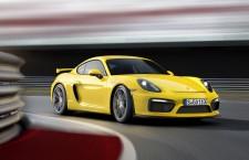 Porsche Cayman GT4 pour plus de sensations