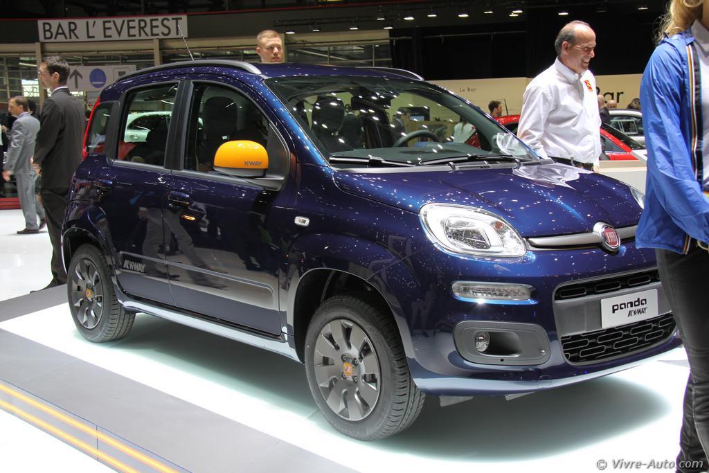 Lire l'article «Genève 2015 : les photos du stand Fiat»