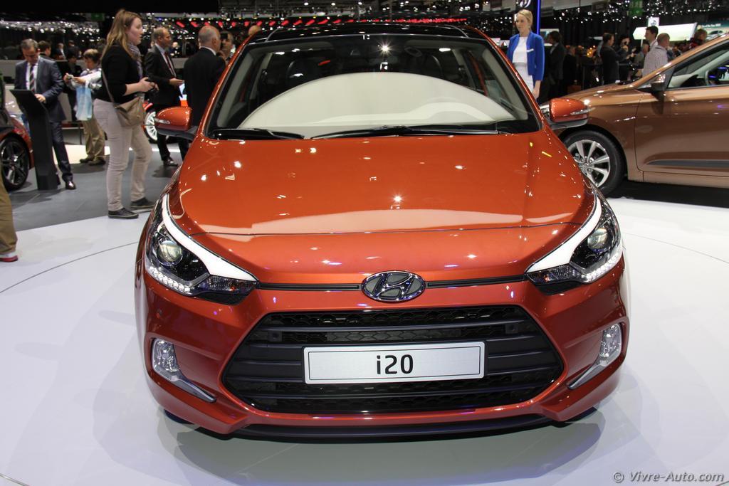 Lire l'article «Genève 2015 : les photos du stand Hyundai»