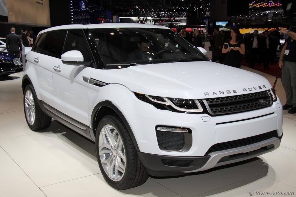 Lire l'article «Genève 2015 : les photos du stand Land Rover»