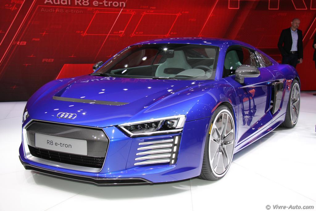 Lire l'article «Salon de Genève 2015 : les photos du stand Audi»
