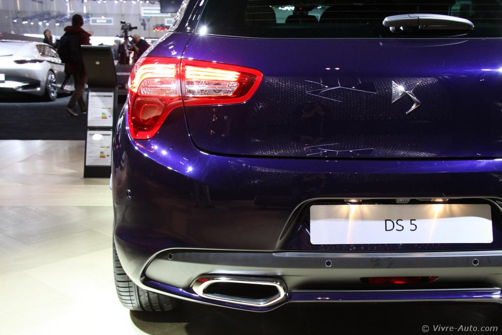 Gen ve 2015 les photos de la ds5 restyl e - Geneve 2015 salon ...