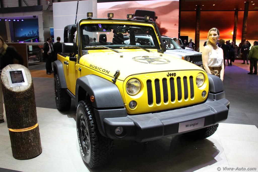 Gen ve 2015 les photos du stand jeep for Salon auto geneve 2015