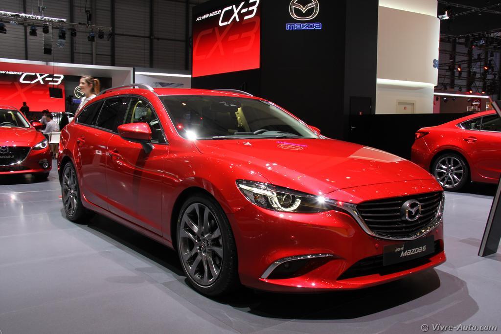 Lire l'article «Genève 2015 : les photos du stand Mazda»