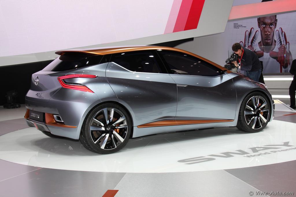 Lire l'article «Genève 2015 : les photos du concept Nissan SWAY»