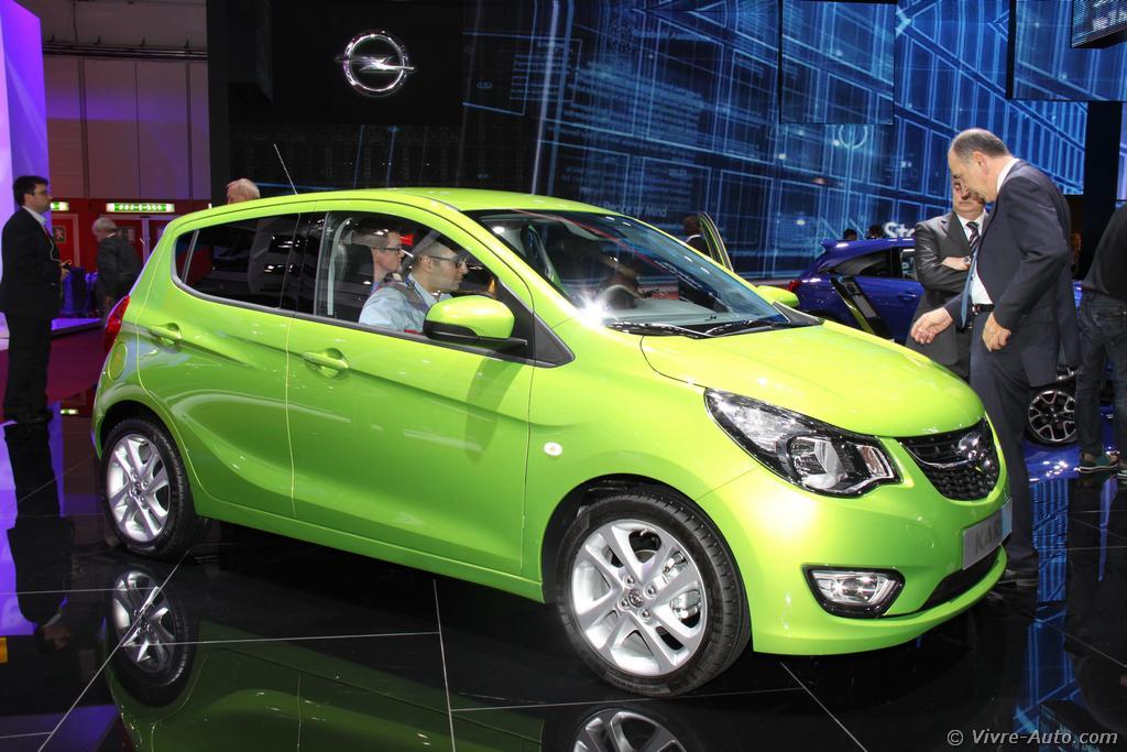 Lire l'article «Genève 2015 : les photos du stand Opel»