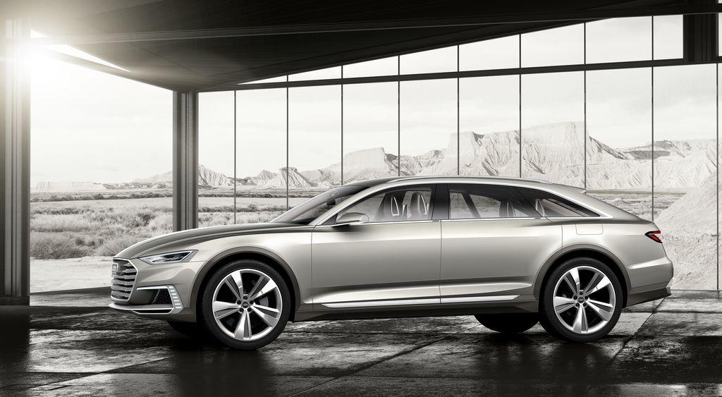 Lire l'article «Audi Prologue Allroad Concept : troisième étude de style»