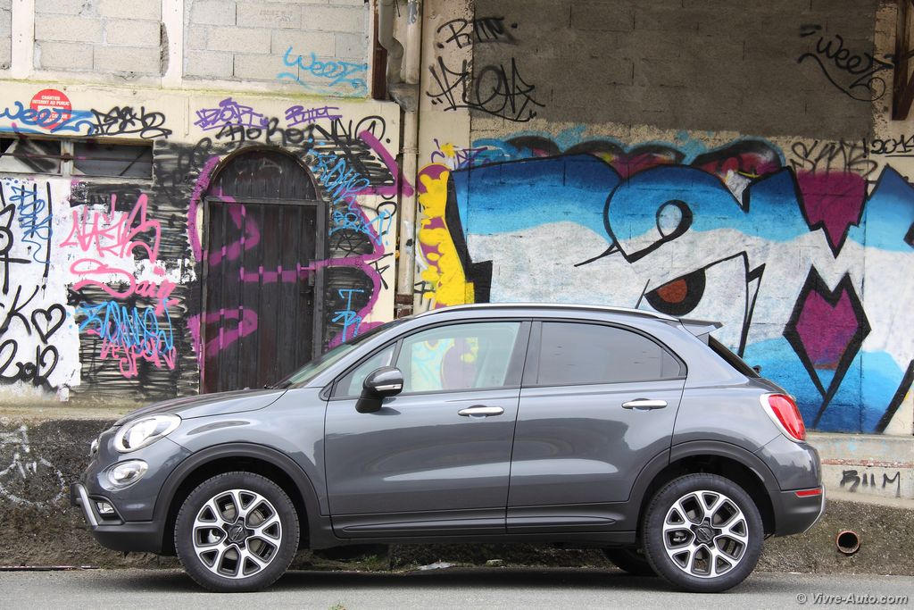 Lire l'article «Essai Fiat 500X 1,6l Multijet 120, un crossover de plus !»