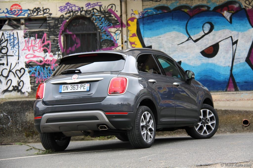 essai fiat 500x 1 6l multijet 120 un crossover de plus. Black Bedroom Furniture Sets. Home Design Ideas