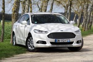 Essai Ford Mondeo Hybrid - Vivre Auto