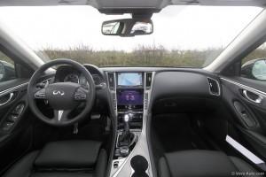 Infiniti Q50 intérieur - essai Vivre Auto
