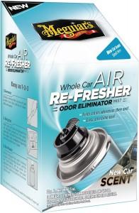 Notre test du destructeur d'odeur Meguiar's Re-Fresher