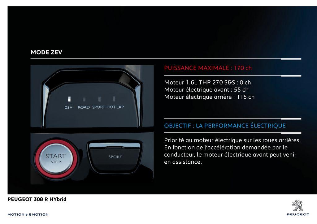 Lire l'article «Peugeot 308 R HYbrid Concept : 500 ch !»