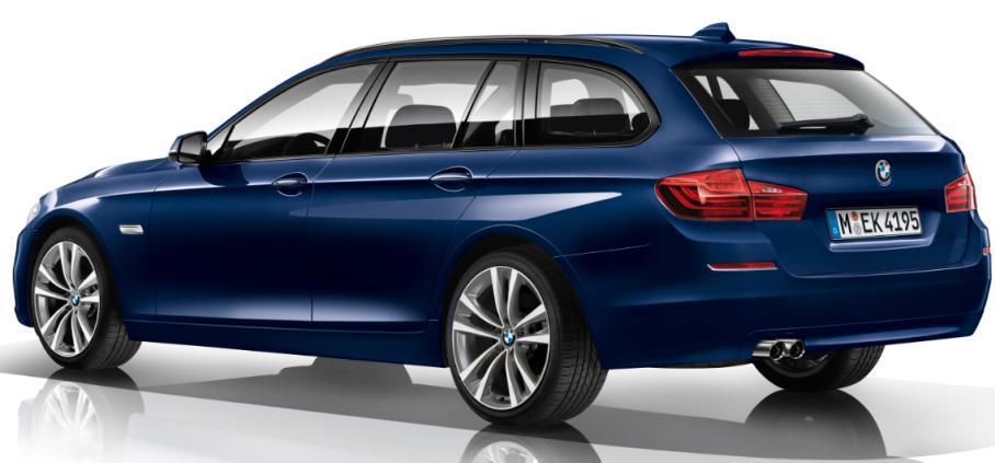Lire l'article «Série spéciale «TechnoDesign» pour les BMW Série 5 & Touring»