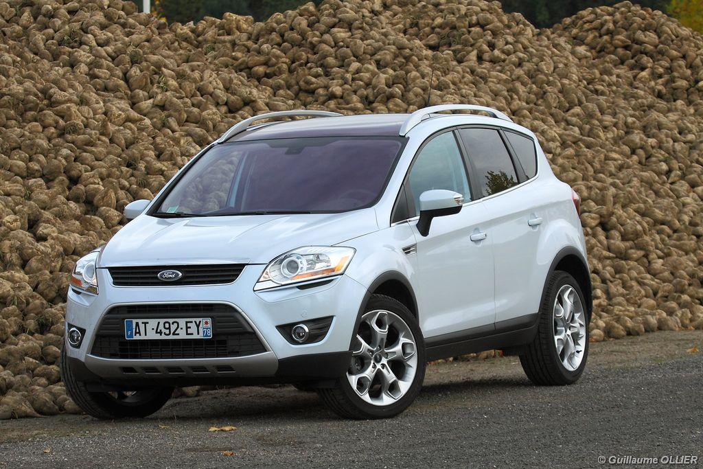 Lire l'article «Essai Ford Kuga TDCi 163»