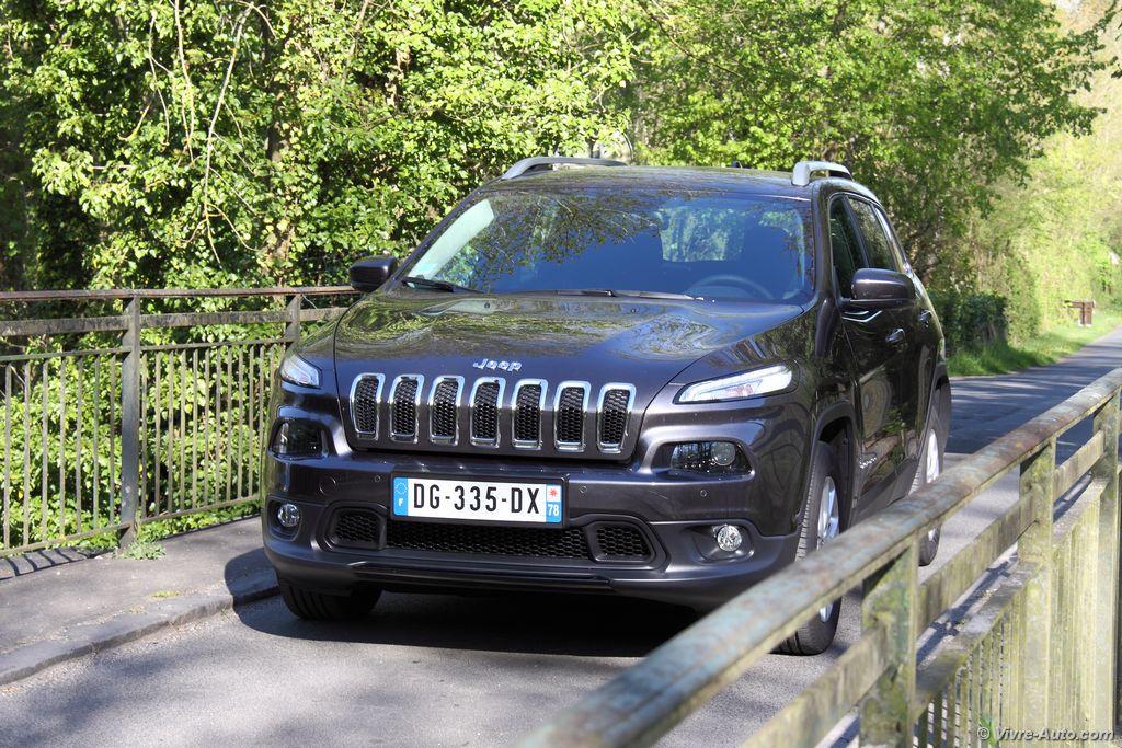 Lire l'article «Essai Jeep Cherokee 2.0 MultiJet 140 4×2 : nouvelle clientèle»
