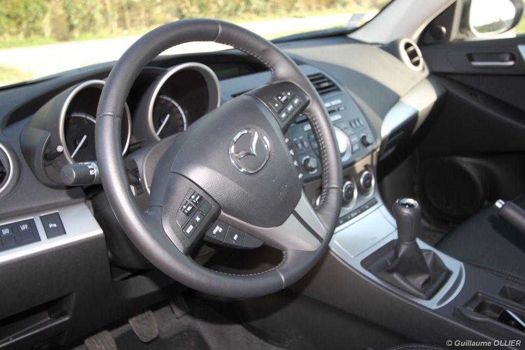 Lire l'article «Essai Mazda 3 DiSi 151 i-stop»