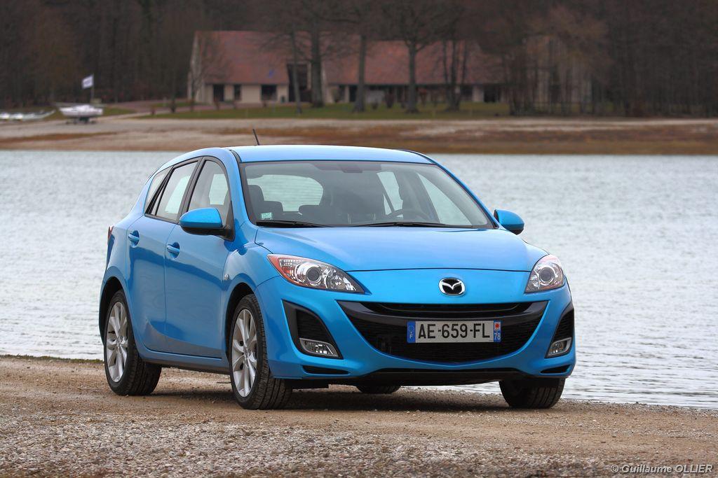 Lire l'article «Essai Mazda 3 MZR-CD 185»