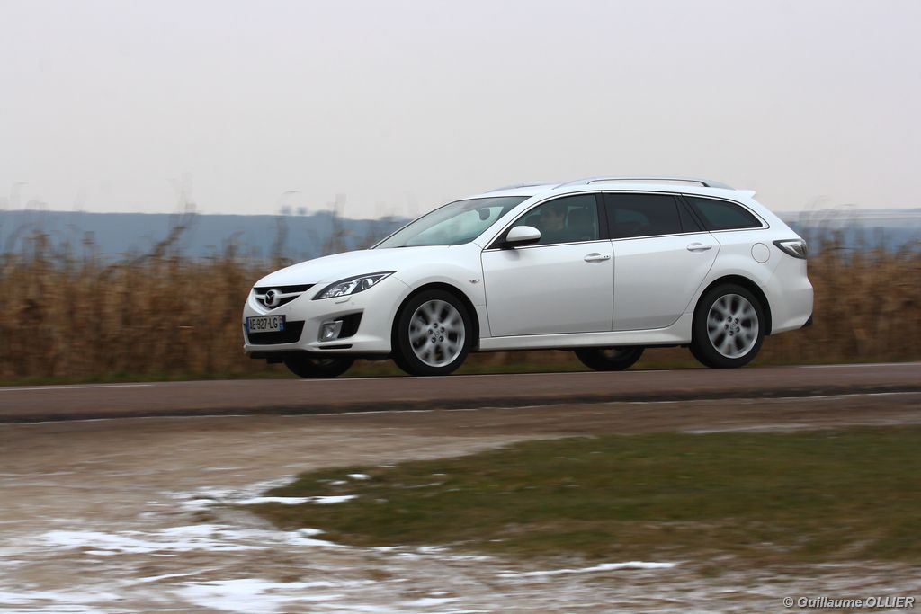 Lire l'article « Essai Mazda 6 Fastwagon MZR-CD 163 »
