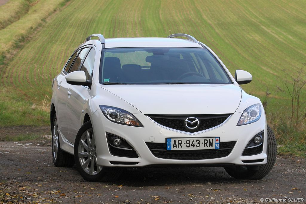 Lire l'article « Essai Mazda 6 Fastwagon restylé MZR-CD 163 »