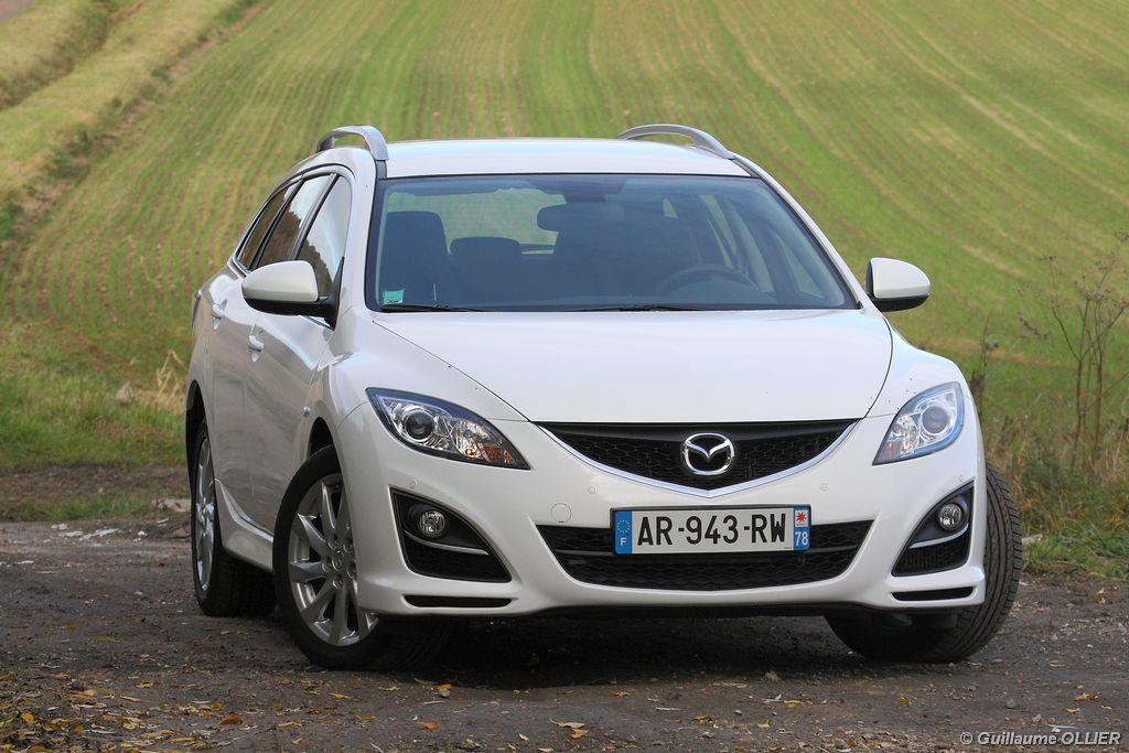 Lire l'article «Essai Mazda 6 Fastwagon restylé MZR-CD 163»