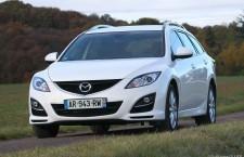 Essai Mazda 6 Fastwagon restylé MZR-CD 163