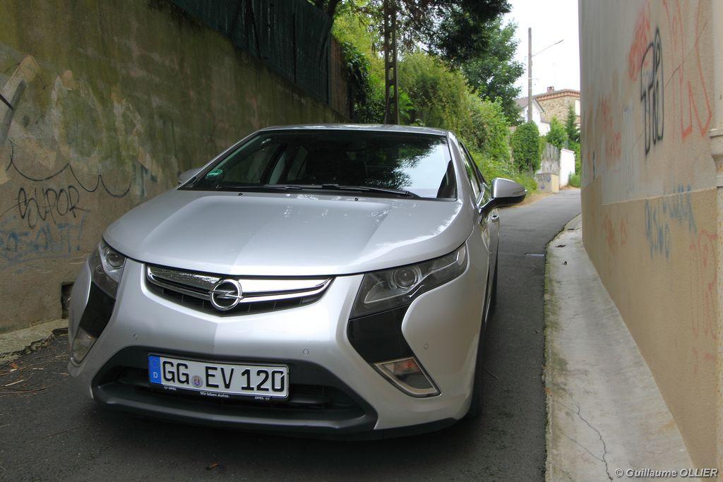 Lire l'article «Essai Opel Ampera»