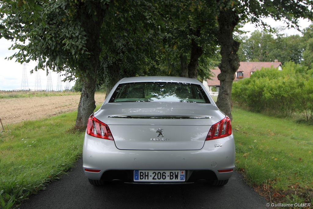 Lire l'article «Essai Peugeot 508 HDi 140»