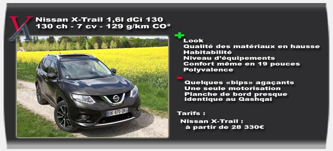 Essai Nissan X-Trail dCi 130 - Vivre Auto