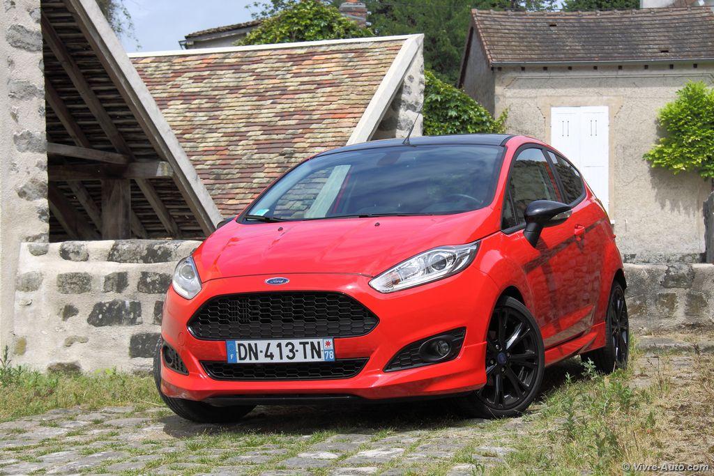 Lire l'article «Essai Ford Fiesta Red Edition EcoBoost 140 : la petite ST»