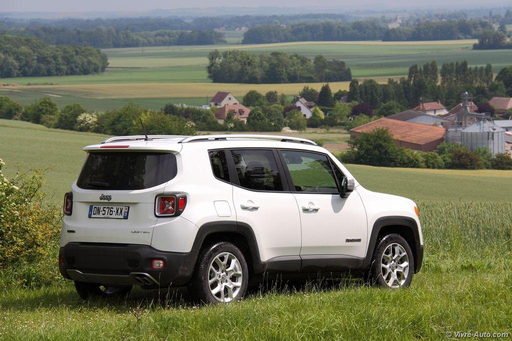 Lire l'article «Essai Jeep Renegade 4×2 MultiJet 120, l'Italo-Américain»