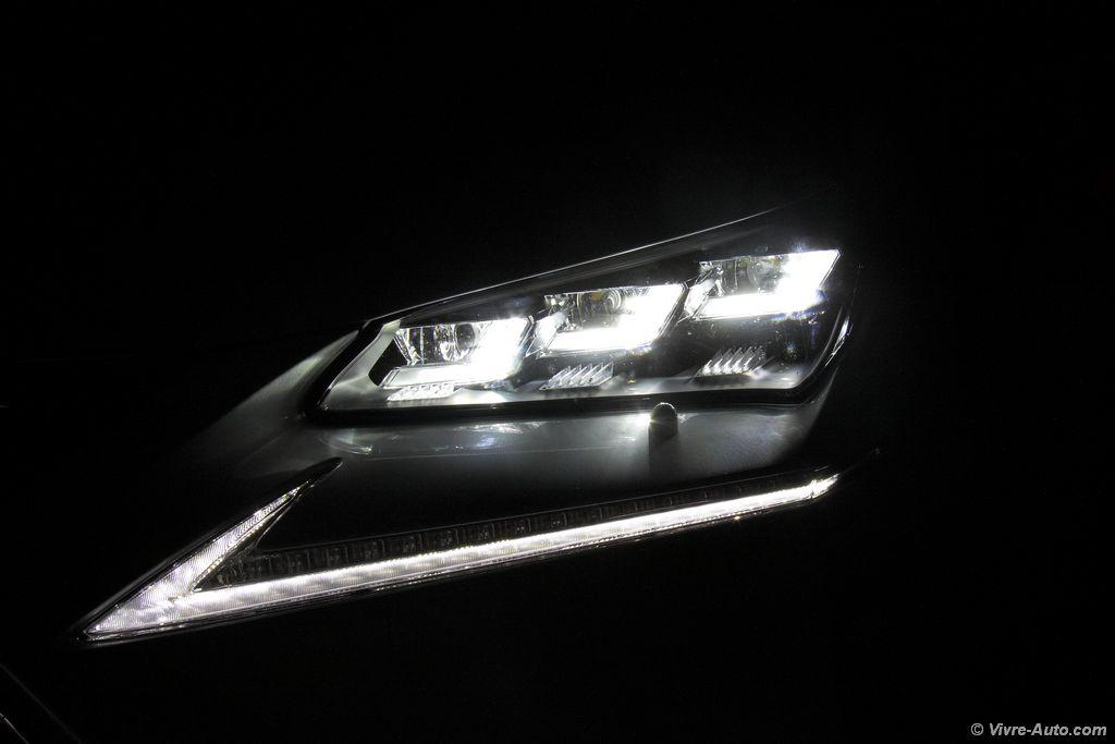 Lire l'article «Essai Lexus NX 300h 4WD F-Sport, salon roulant»