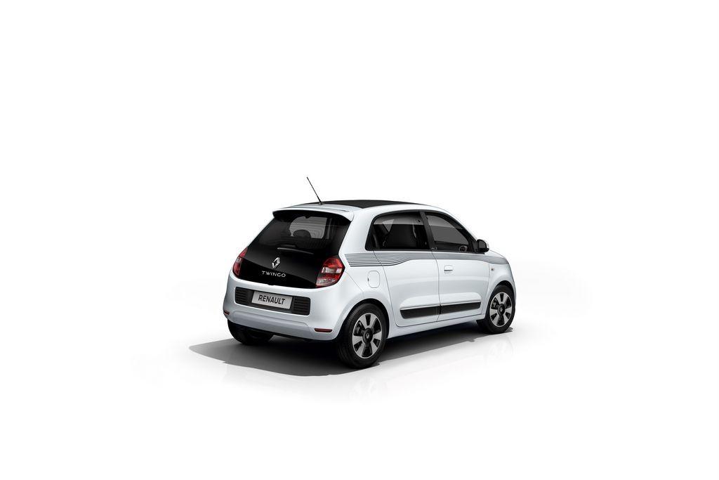 Decors Exterieurs Noirs Renault Twingo
