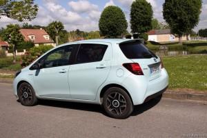 Essai Toyota Yaris Hybride - Vivre Auto