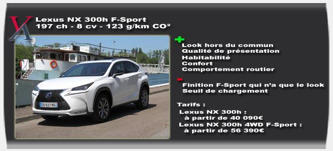 Essai Lexus NX 300h - Vivre Auto