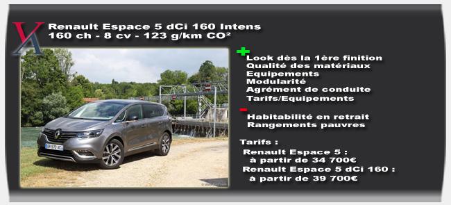 Essai Renault Espace 5 - Vivre Auto