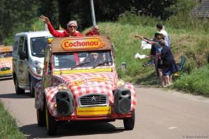 Caravanes Tour de France 2015 - Vivre Auto
