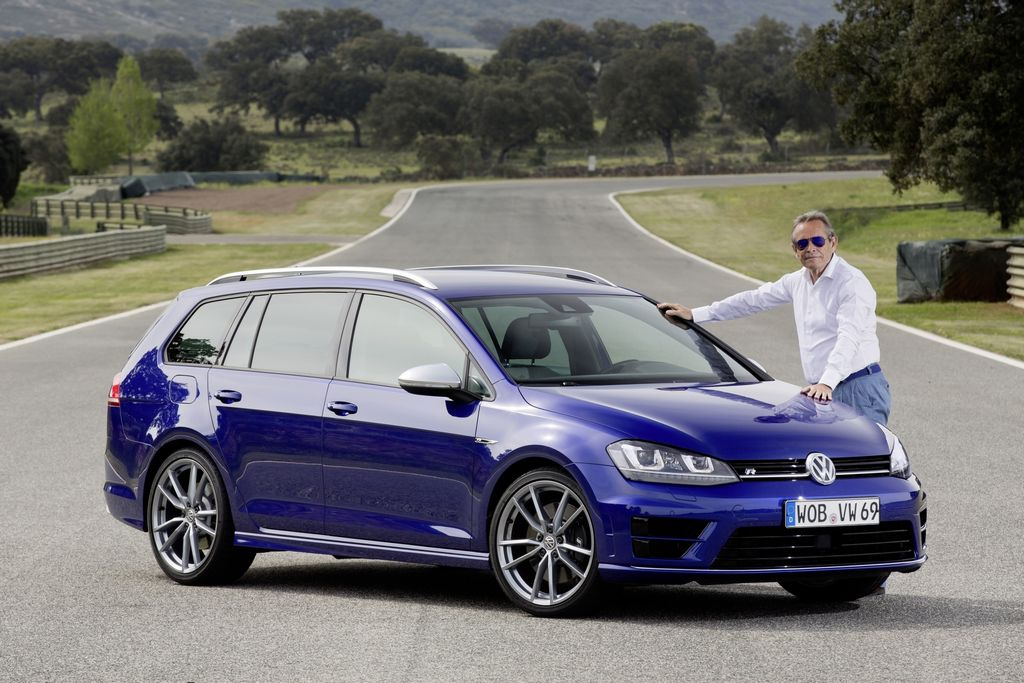 la volkswagen golf sw r arrive en concession. Black Bedroom Furniture Sets. Home Design Ideas