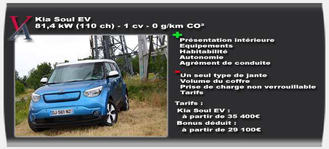 Essai Kia Soul EV - Vivre-Auto