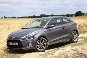 Hyundai i20 Coupé - Essai Vivre-Auto