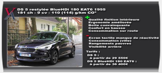Essai DS 5 2015 BlueHDi 180 EAT6 - Vivre-Auto