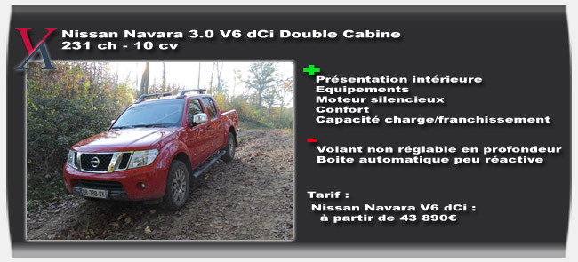 Essai Nissan Navara V6 - Vivre-Auto