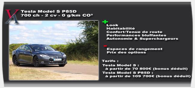 Essai Tesla Model S P85D - Vivre-Auto