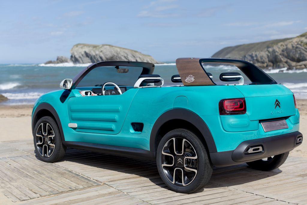 Lire l'article «Citroën Cactus M Concept, le retour de la Méhari»