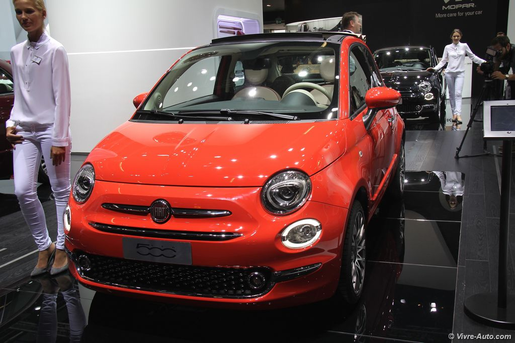 Lire l'article « La nouvelle Fiat 500 en photos au salon de Francfort »