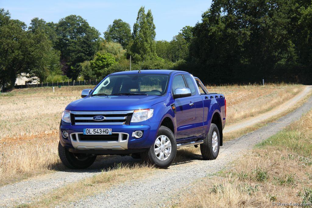 Lire l'article «Essai Ford Ranger Super Cab XLT Sport TDCi 150»